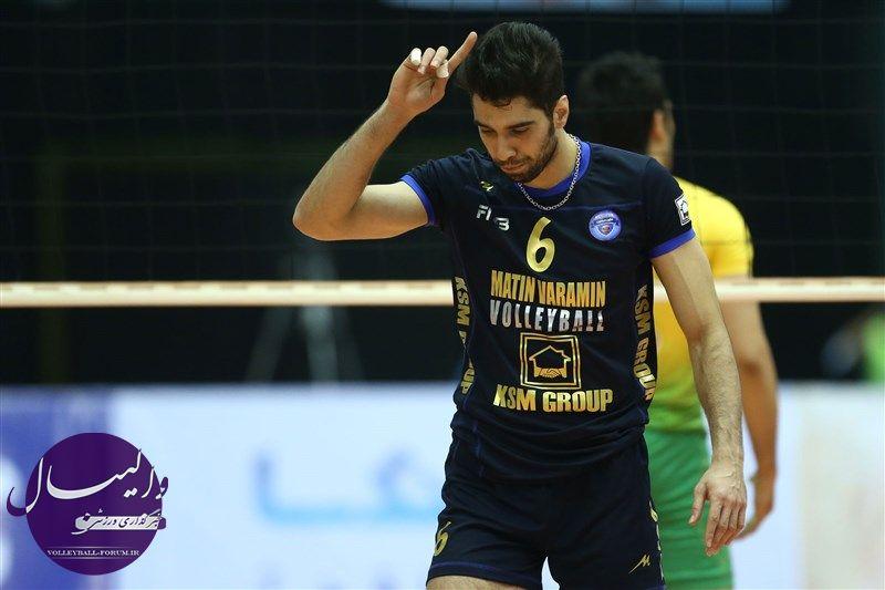 به دلیل توهین به فدراسیون والیبال / محرومیت محمد موسوی از کلیه فعالیت های والیبال
