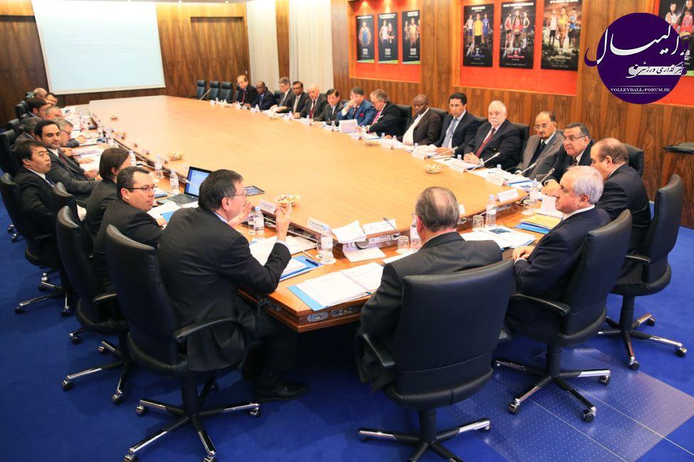 گزارشی از مهمترین مصوبات اجلاس سالیانه FIVB +اعلام تقويم 4 ساله !