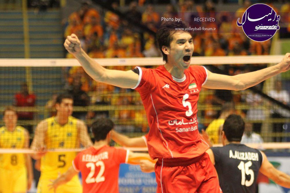 پیش بازی  : والیبالیست های ایران میزبان ایتالیای متفاوت  !