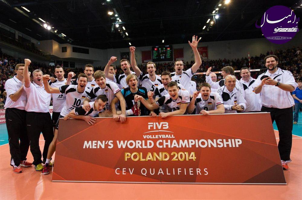 گزارشی از وضعیت آماده سازی تیم ملی والیبال آلمان :آلمان به دنبال مدال در قهرمانی جهانی بعد از 44 سال!