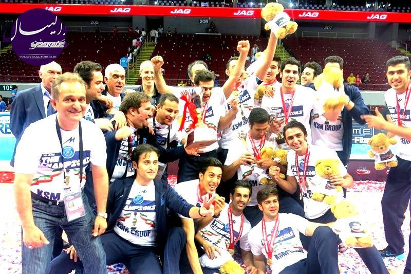 گزارش تصویری از مراسم اهدای جوایز مسابقات والیبال قهرمانی باشگاه های مردان آسیا