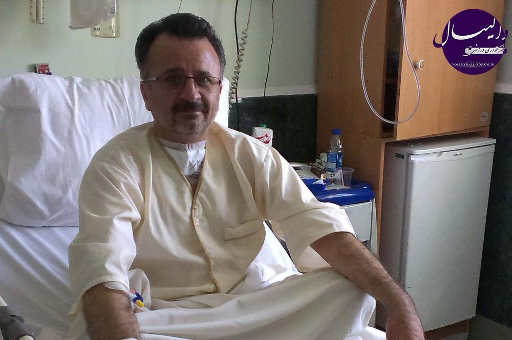 محمد رضا داورزنی مرخص شد