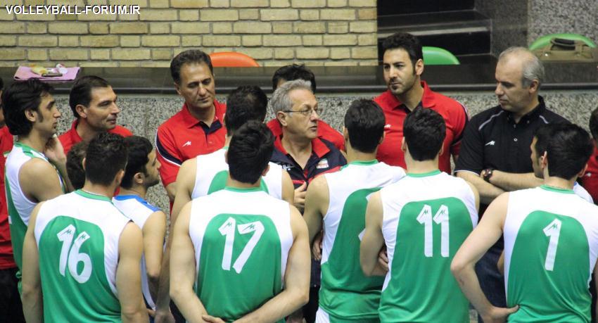 استراحت 2 روزه اعضای تیم ملی والیبال !