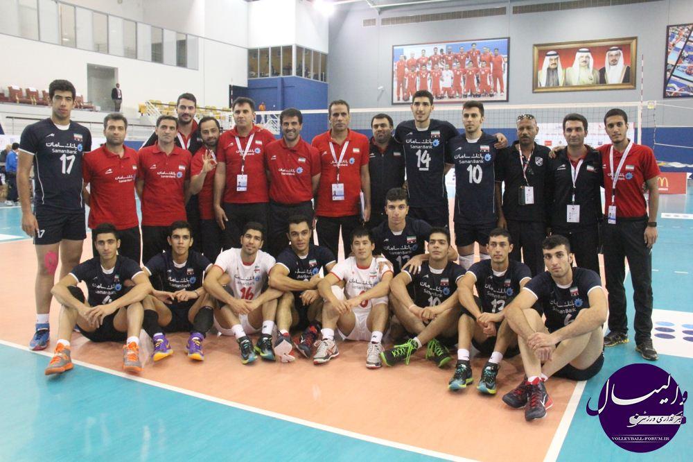 جوانان ایران انتقام خود را از میزبان گرفتند و فینالیست شدند/ ایران 3-1 بحرین/برنامه مرحله نهایی