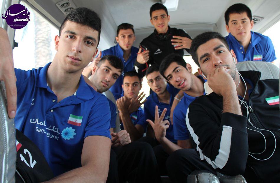 گزارش تصویری از اولین دیدار تیم ملی جوانان در رقابت ها آسیایی