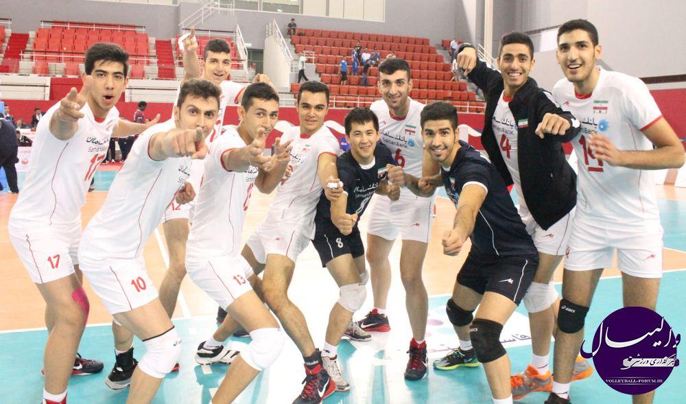 گزارش تصویری از مسابقه ایران - قطر/ رقابت های جوانان آسیا