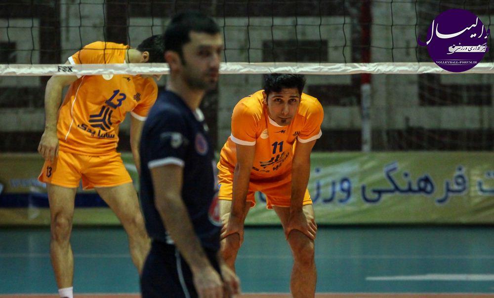گزارش تصویری دیدار سایپای البرز - کاله مازندران !