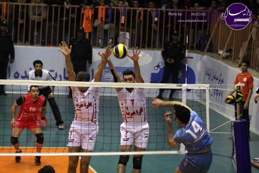 گزارش تصویری دیدار میزان مشهد 1-3 شهرداری ارومیه