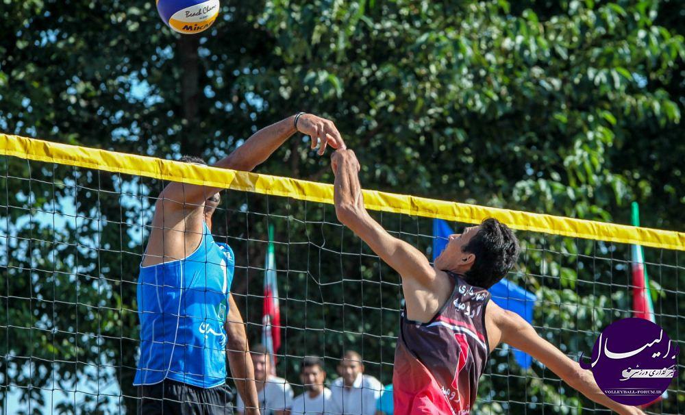 تیم های ملی والیبال ساحلی رقیبان آسیایی خود را شناختند