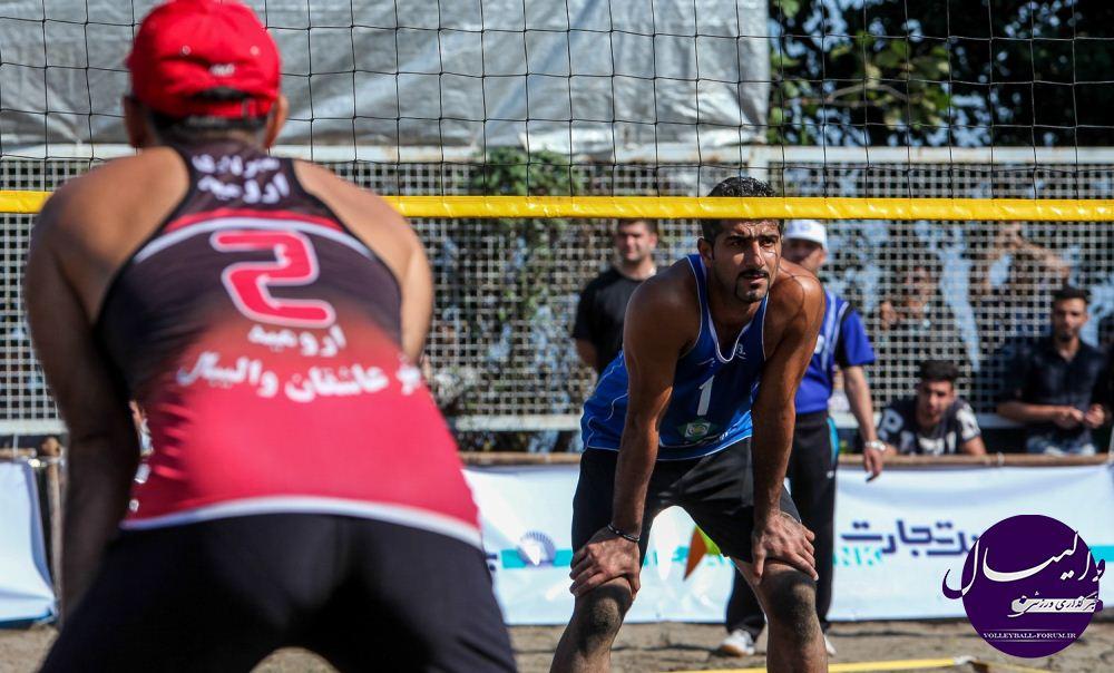 شهرداری ارومیه قهرمان والیبال ساحلی کشور + نتایج کامل این دوره/ گزارش تصویری فینال !