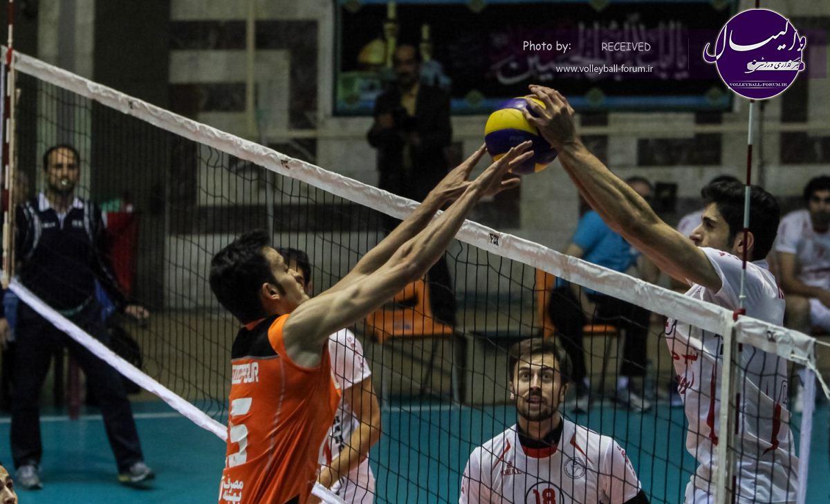گزارش تصویری دیدار سایپا البرز 1-3 شهرداری ارومیه