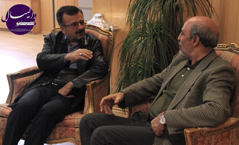 داورزنی: حمایت های معنوی وزارت ورزش تاثیر مثبتی در روند موفقیت ها دارد !