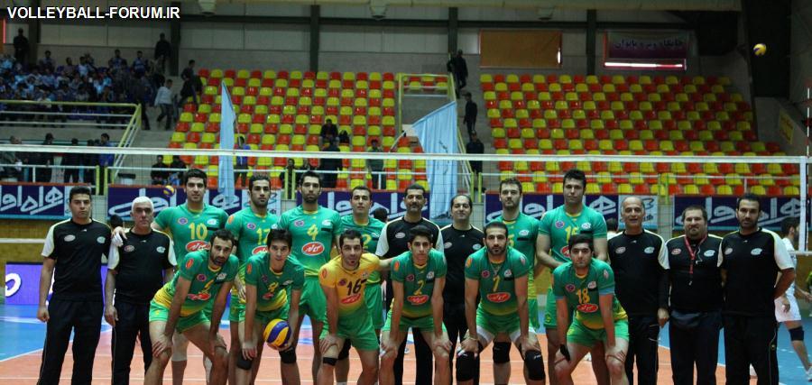 برای آمادگی بیشتر در دیدار فینال لیگ برتر والیبال/تیم والیبال کاله مازندران در تهران اردو زد!
