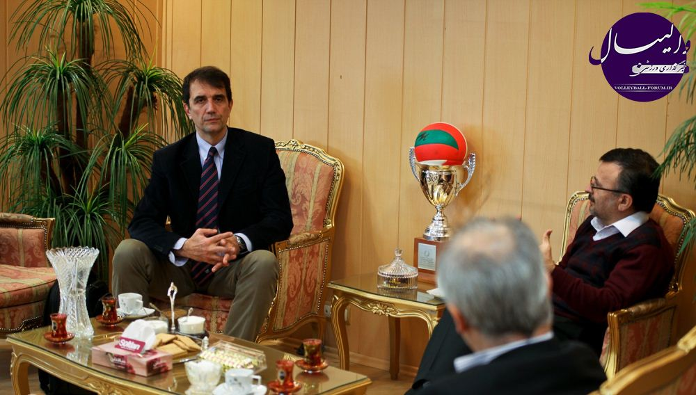 داورزنی : ربادنگو تا المپیک 2016 مشاور بین المللی والیبال ایران شد