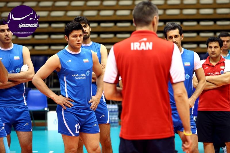 تمرکز تمرین تیم ملی والیبال روی نقاط قوت و ضعف ایتالیا