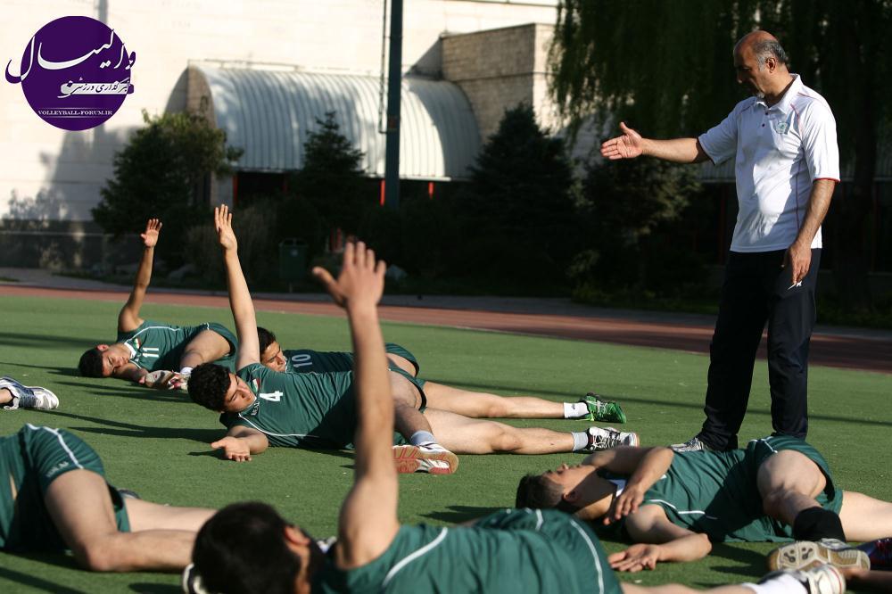 تیم ملی والیبال نوجوانان :27 بازیکن از بین 160 نفر انتخاب و دعوت شدند !