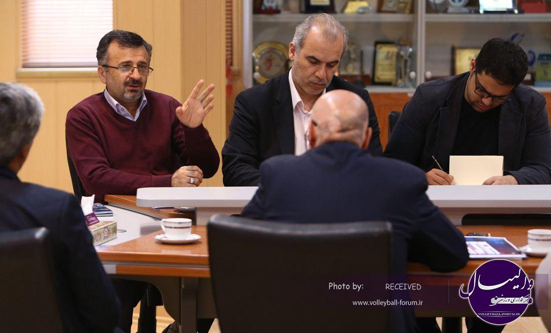 جلسه بررسی راه والیبال ایران در المپیک ریو برگزار شد