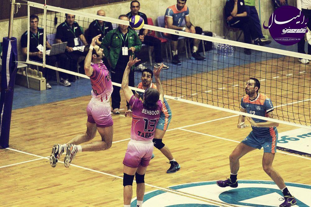 برنامه مسابقات تیم ملی والیبال ایران در جام کنفدراسیون والیبال آسیا