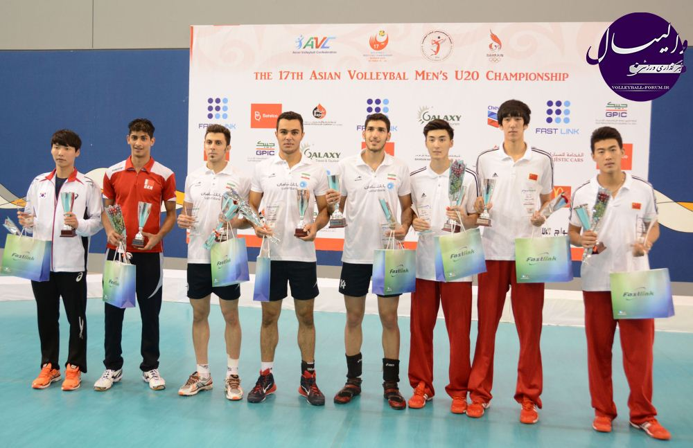 بهترین های رقابت های جوانان آسیا معرفی شدند ، ایران دارای سه نماینده !