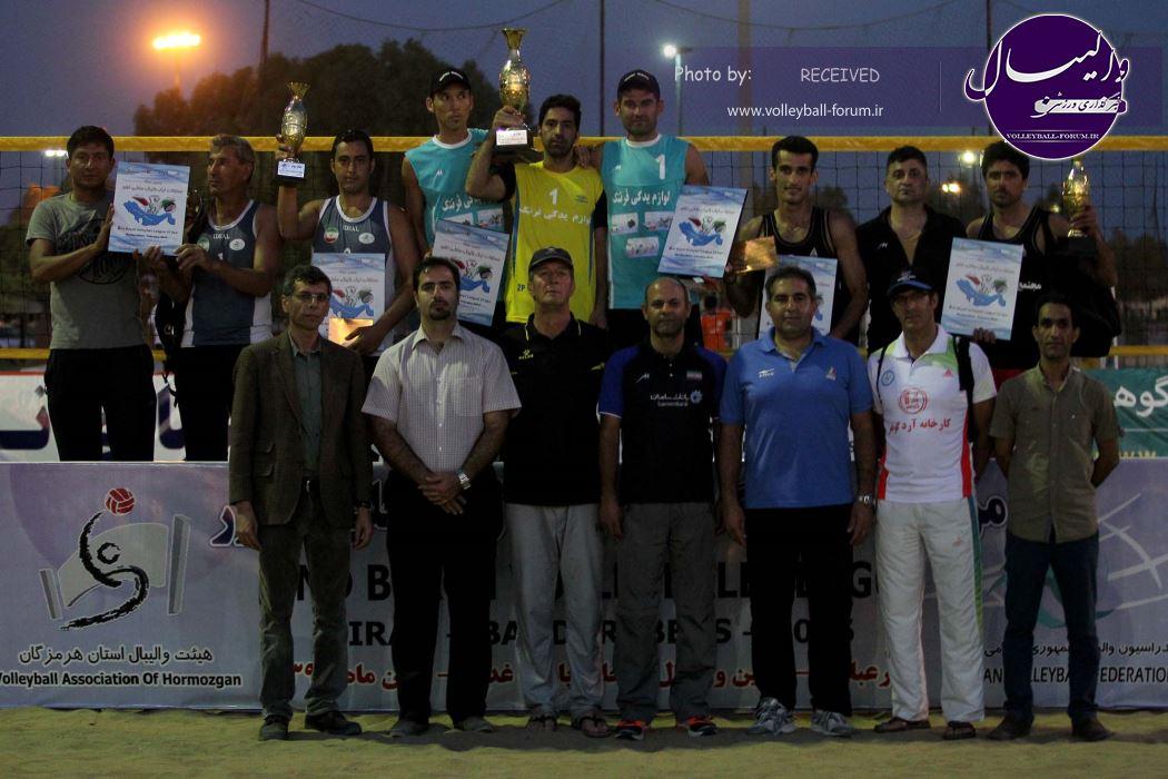 رحمان رئوفی در مرحله دوم لیگ والیبال ساحلی هم به قهرمانی رسید+تصاویر