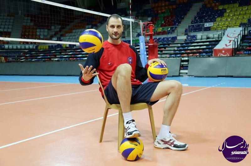 سه ویدئو کلیپ زیبا از متی کازیسکی (Matey Kaziyski)  فوق ستاره تیم ملی والیبال بلغارستان !