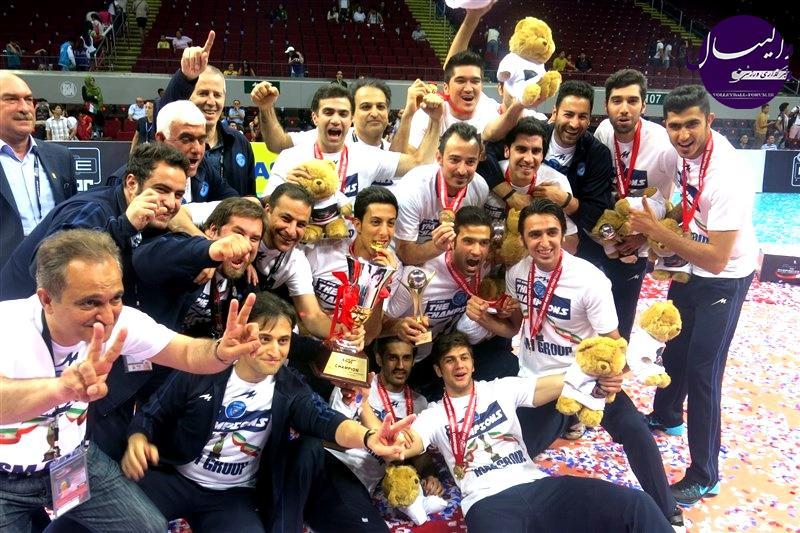 نظری افشار، والیبالیست متین ورامین: خوشحالم که در تیمی چون متین موثر بودم .