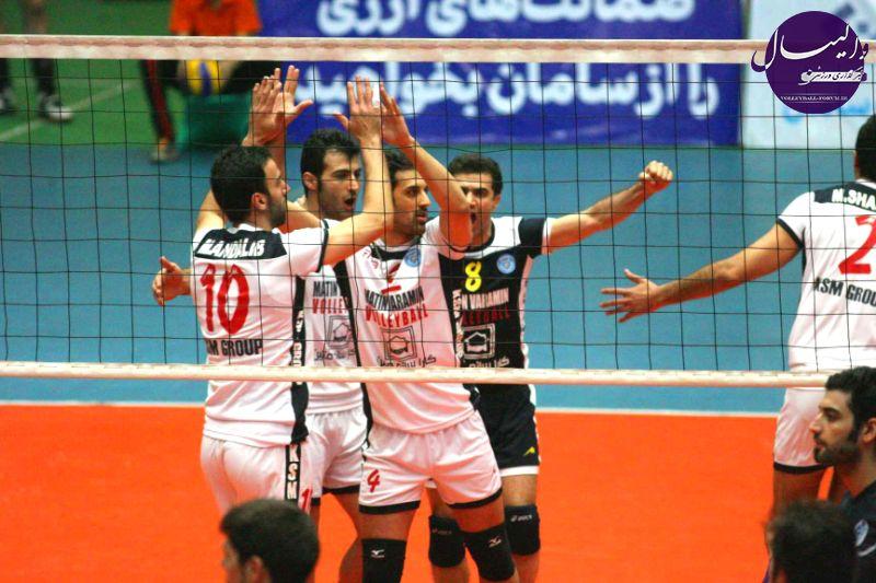 سرپرست تیم والیبال متین ایران : به دنبال دفاع از اعتبار والیبال ایران در آسیا هستیم !