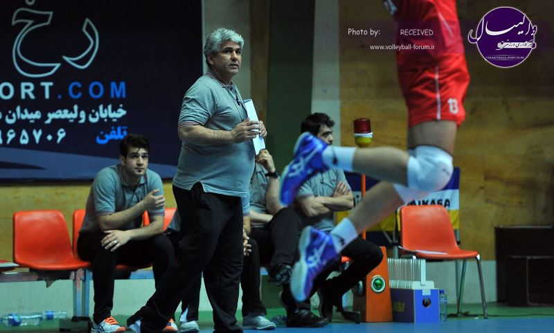 تقدیر کمیته انضباطی فدراسیون والیبال از سرمربی شهرداری تبریز