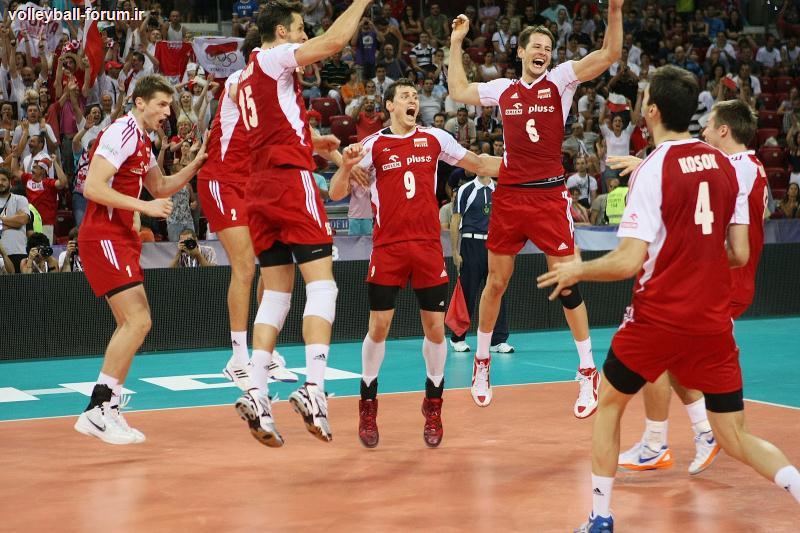 میزبانی 6 شهر لهستان از مسابقات والیبال مردان جهان 2014 !