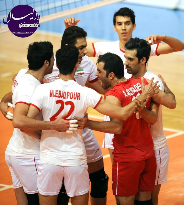 شکست نزدیک ایران مقابل صربستان در دومین دیدار دوستانه والیبال