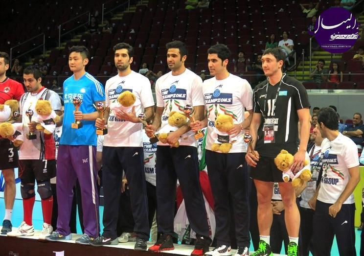شریفات ، بهترین مدافع روی تور آسیا : برای این افتخار تلاش زیادی کردم !