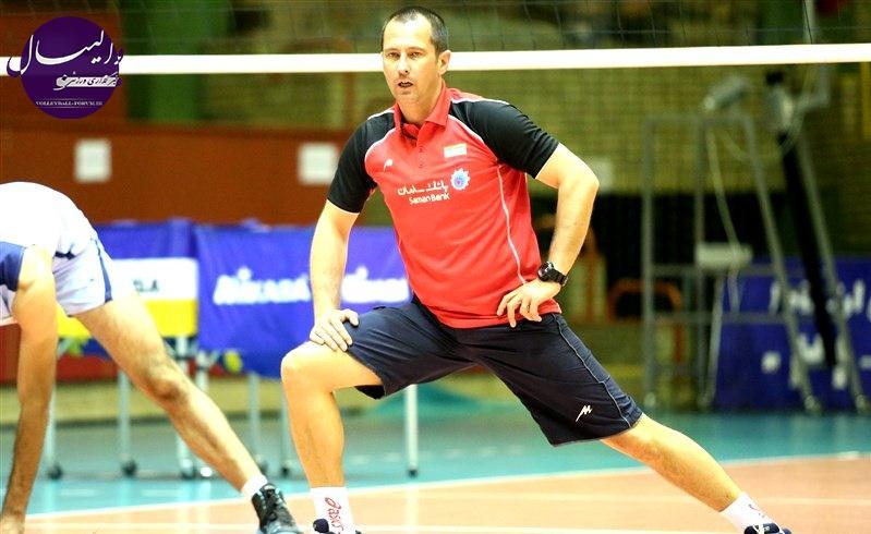 چورا ، دستیار سرمربی جدید تیم ملی والیبال ایران ، با مردان والیبال ایران آغاز کرد !
