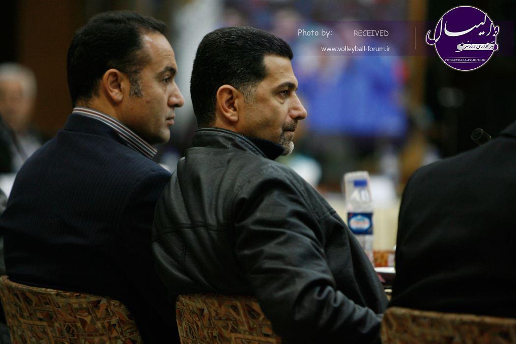 مجمع سالیانه فدراسیون والیبال/ گزارش تصویری