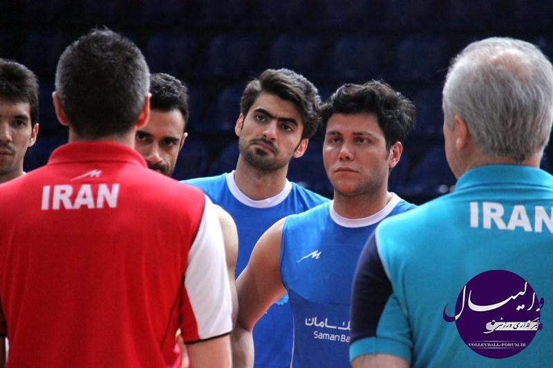 تمرین مشترک ایران و صربستان برای آمادگی در لیگ جهانی برگزار شد !