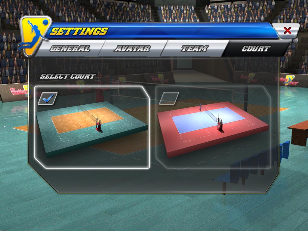 بازی Volleysim بهترین بازی والیبال برای تلفن همراه + دانلود