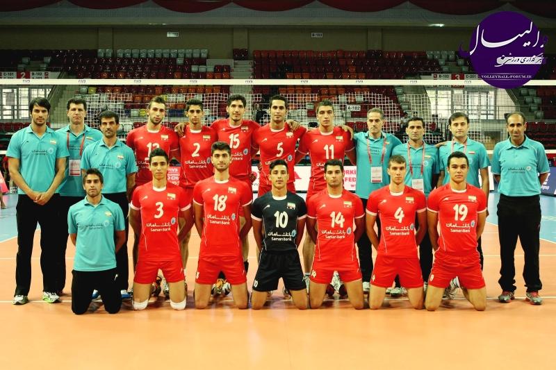 ۵۰ بازیکن به تیم والیبال جوانان ایران دعوت شدند !