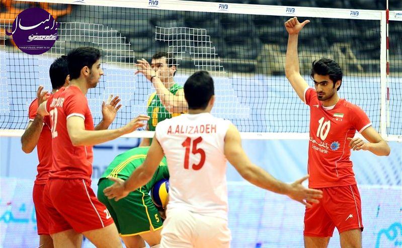 پیروزی دیگر برای تیم ملی والیبال ایران مقابل استرالیا در دومین بازی دوستانه