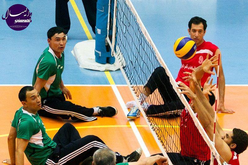 والیبال نشسته ایران در صدر جدول رده بندی جهانی