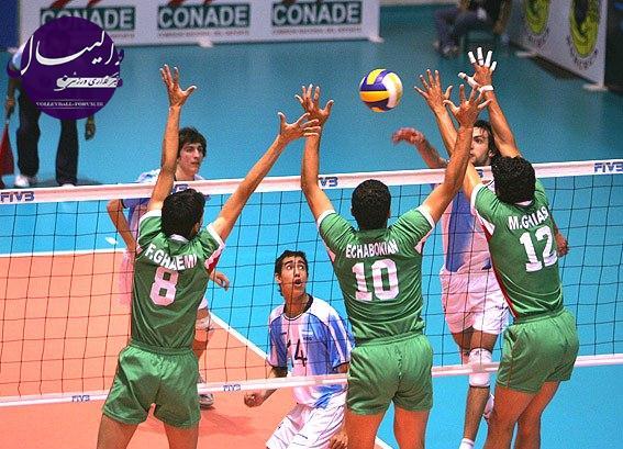 مسابقات قهرمانی والیبال دانش آموزان جهان ، ایران در مرحله دوم حریف ترکیه شد !