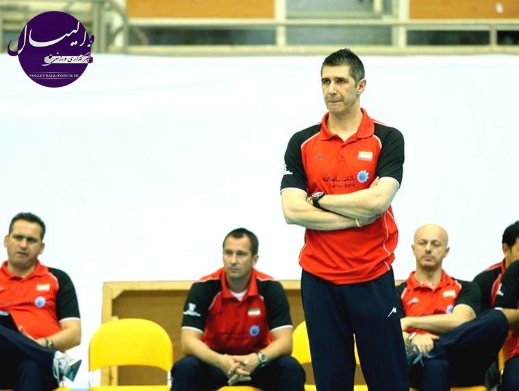 کواچ : اگر با والیبال ایران آشنا نبودم ، در این بیست روز کار خیلی سخت می شد !