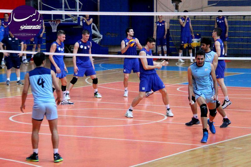 تیم ملی والیبال ایران در اولین دیدار مغلوب صربستان شد !