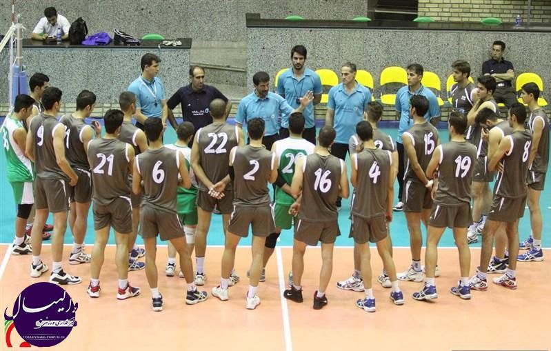 اولین اردوی تیم های ملی والیبال