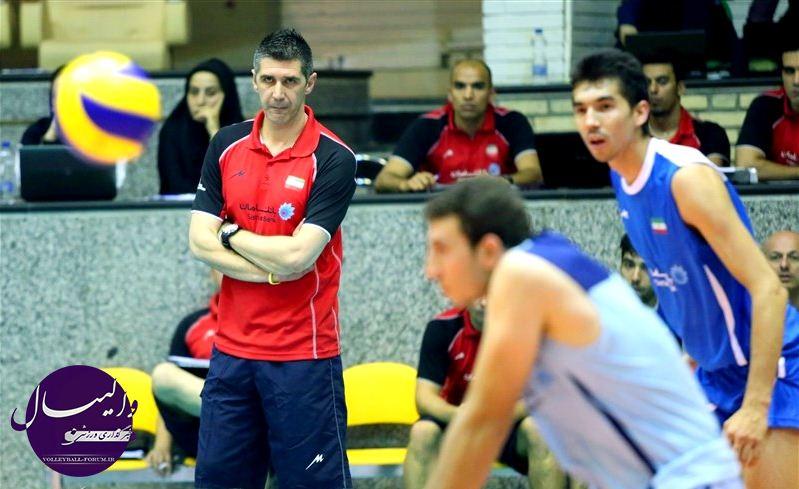 پیروزی مردان والیبال ایران مقابل استرالیا در نخستین روز حضور کواچ در تیم !