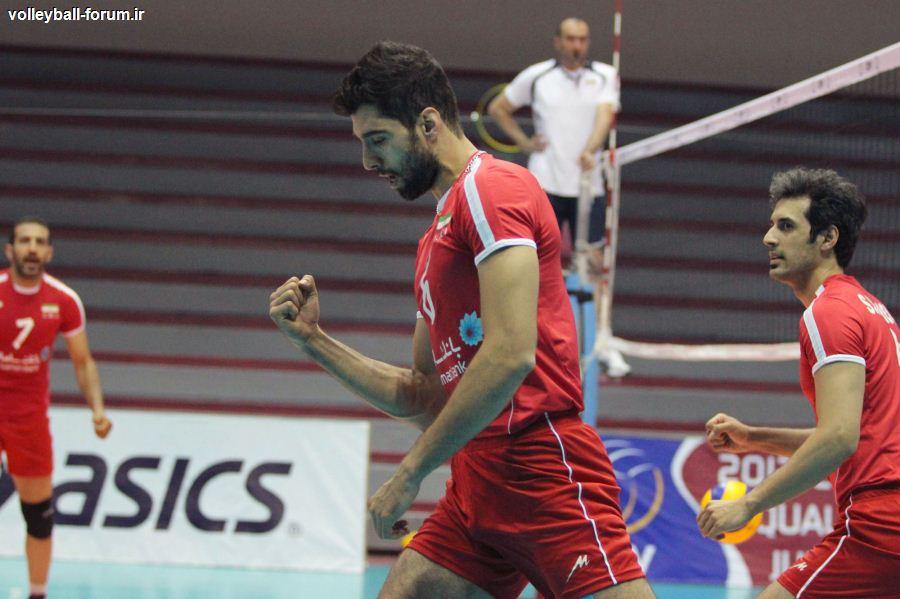 نتیجه ی زنده ی سومین دیدار تدارکاتی تیم ملی والیبال ایران در برابر بلغارستان !
