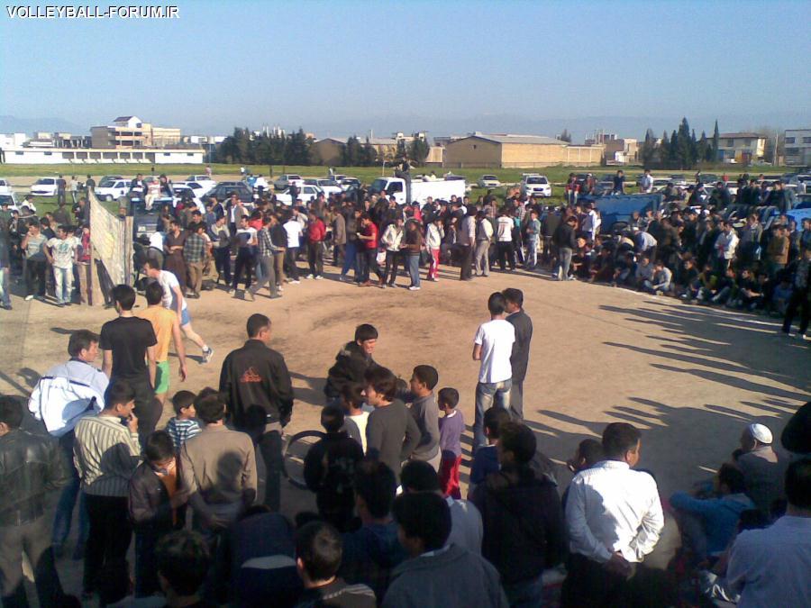 گزارش تصویری از مسابقات والیبال در پایتخت والیبال ایران گنبد کاووس به مناسبت عروسی!