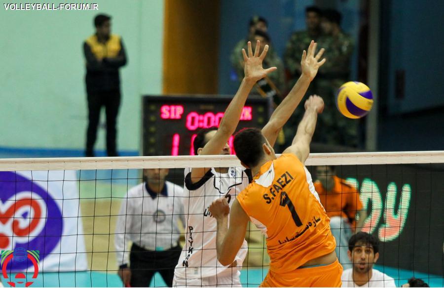 گزارش تصویری از بازی دوم رده بندی لیگ برتر والیبال/پیکان تهران-سایپای البرز