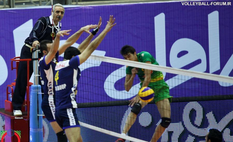 گزارش تصویری از بازی دوم فینال لیگ برتر والیبال/کاله مازندران-متین ورامین!
