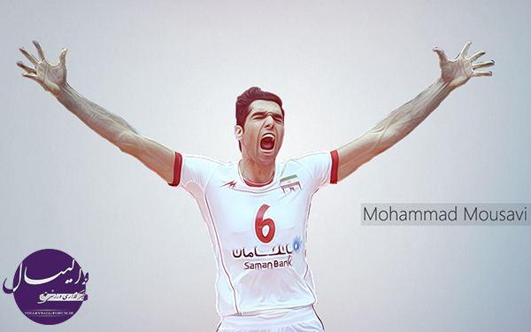 گفتوگو با محمد موسوی بهترین دفاع روی تور لیگ جهانی؛فوتبال را از چشم میاندازیم!
