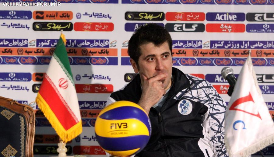 امیر حسینی :ثابت کردیم جایگاهمان بازی رده بندی نیست!