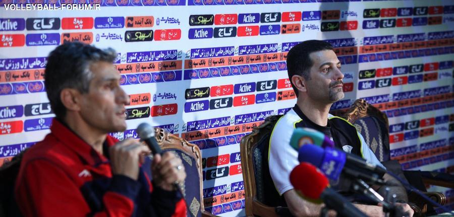 بهروز عطایی بعد از باخت به متین ورامین : شکست را در بازی بعد جبران می کنیم
